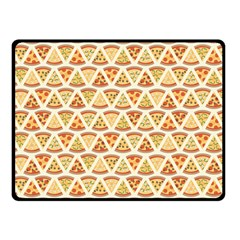 Food Pizza Bread Pasta Triangle Double Sided Fleece Blanket (small)