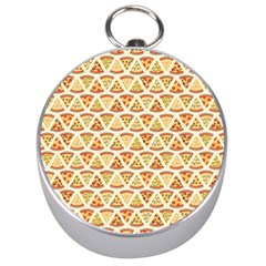 Food Pizza Bread Pasta Triangle Silver Compasses
