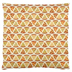 Food Pizza Bread Pasta Triangle Standard Flano Cushion Case (one Side)