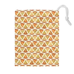 Food Pizza Bread Pasta Triangle Drawstring Pouches (extra Large)
