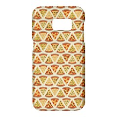 Food Pizza Bread Pasta Triangle Samsung Galaxy S7 Hardshell Case