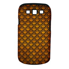 Scales2 Black Marble & Yellow Grunge Samsung Galaxy S Iii Classic Hardshell Case (pc+silicone)