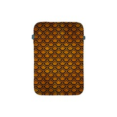 Scales2 Black Marble & Yellow Grunge Apple Ipad Mini Protective Soft Cases