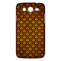 Scales2 Black Marble & Yellow Grunge Samsung Galaxy Mega 5 8 I9152 Hardshell Case