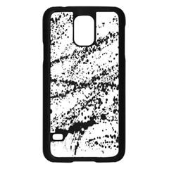Ink Splatter Texture Samsung Galaxy S5 Case (black)