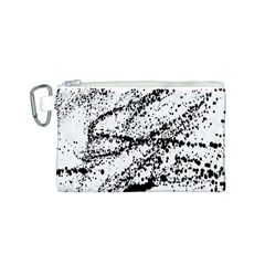Ink Splatter Texture Canvas Cosmetic Bag (s)