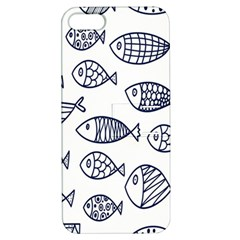 Love Fish Seaworld Swim Blue Sea Water Cartoons Apple Iphone 5 Hardshell Case With Stand
