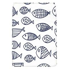 Love Fish Seaworld Swim Blue Sea Water Cartoons Flap Covers (s)