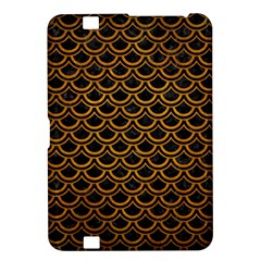 Scales2 Black Marble & Yellow Grunge (r) Kindle Fire Hd 8 9