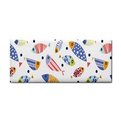 Love Fish Seaworld Swim Blue White Sea Water Cartoons Rainbow Cosmetic Storage Cases
