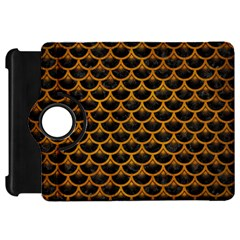 Scales3 Black Marble & Yellow Grunge (r) Kindle Fire Hd 7