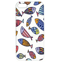 Love Fish Seaworld Swim Rainbow Cartoons Apple Iphone 5 Hardshell Case With Stand