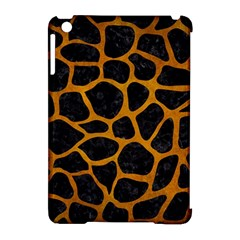 Skin1 Black Marble & Yellow Grunge Apple Ipad Mini Hardshell Case (compatible With Smart Cover)