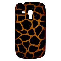 Skin1 Black Marble & Yellow Grunge Galaxy S3 Mini
