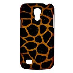 Skin1 Black Marble & Yellow Grunge Galaxy S4 Mini