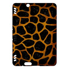 Skin1 Black Marble & Yellow Grunge Kindle Fire Hdx Hardshell Case