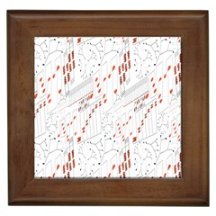 Musical Scales Note Framed Tiles