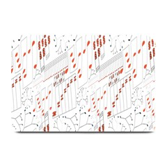 Musical Scales Note Plate Mats
