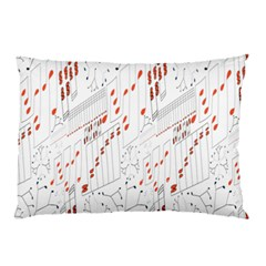 Musical Scales Note Pillow Case