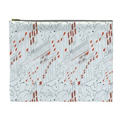 Musical Scales Note Cosmetic Bag (xl)