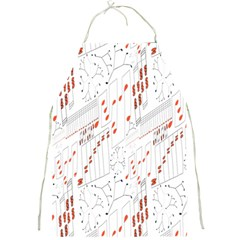 Musical Scales Note Full Print Aprons