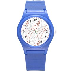 Musical Scales Note Round Plastic Sport Watch (s)