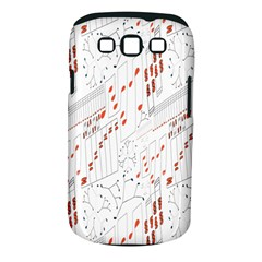 Musical Scales Note Samsung Galaxy S Iii Classic Hardshell Case (pc+silicone)