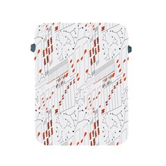 Musical Scales Note Apple Ipad 2/3/4 Protective Soft Cases