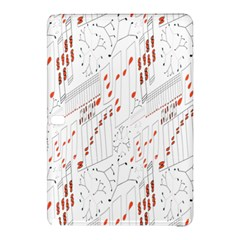 Musical Scales Note Samsung Galaxy Tab Pro 12 2 Hardshell Case