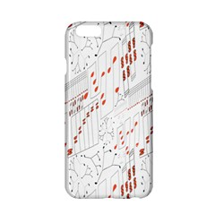 Musical Scales Note Apple Iphone 6/6s Hardshell Case