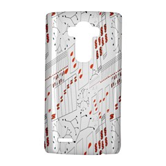 Musical Scales Note Lg G4 Hardshell Case