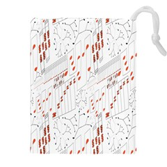 Musical Scales Note Drawstring Pouches (xxl)
