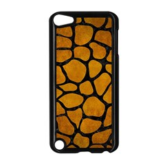 Skin1 Black Marble & Yellow Grunge (r) Apple Ipod Touch 5 Case (black)