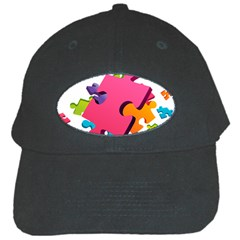 Passel Picture Green Pink Blue Sexy Game Black Cap