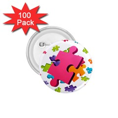 Passel Picture Green Pink Blue Sexy Game 1 75  Buttons (100 Pack)