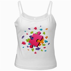 Passel Picture Green Pink Blue Sexy Game Ladies Camisoles