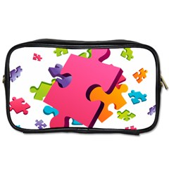 Passel Picture Green Pink Blue Sexy Game Toiletries Bags
