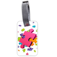 Passel Picture Green Pink Blue Sexy Game Luggage Tags (one Side)