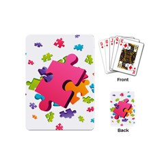 Passel Picture Green Pink Blue Sexy Game Playing Cards (mini)