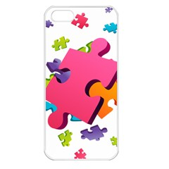 Passel Picture Green Pink Blue Sexy Game Apple Iphone 5 Seamless Case (white)