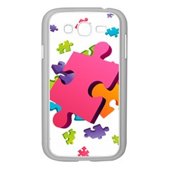 Passel Picture Green Pink Blue Sexy Game Samsung Galaxy Grand Duos I9082 Case (white)