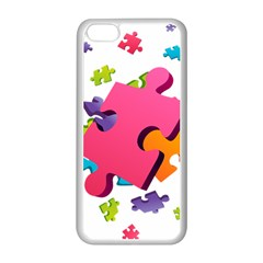 Passel Picture Green Pink Blue Sexy Game Apple Iphone 5c Seamless Case (white)