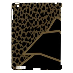 Polka Spot Grey Black Apple Ipad 3/4 Hardshell Case (compatible With Smart Cover)