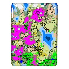 Painting Map Pink Green Blue Street Ipad Air Hardshell Cases