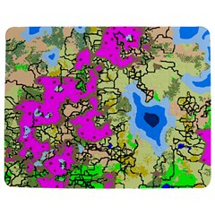 Painting Map Pink Green Blue Street Jigsaw Puzzle Photo Stand (rectangular)