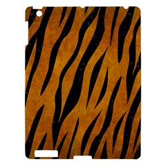 Skin3 Black Marble & Yellow Grunge Apple Ipad 3/4 Hardshell Case