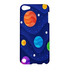 Planet Space Moon Galaxy Sky Blue Polka Apple Ipod Touch 5 Hardshell Case