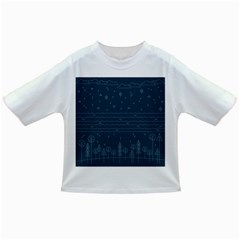 Rain Hill Tree Waves Sky Water Infant/toddler T Shirts