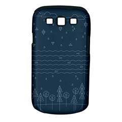 Rain Hill Tree Waves Sky Water Samsung Galaxy S Iii Classic Hardshell Case (pc+silicone)