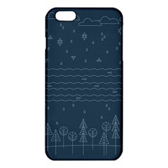 Rain Hill Tree Waves Sky Water Iphone 6 Plus/6s Plus Tpu Case